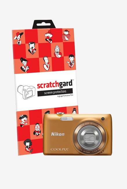 ScratchGard Nikon CP S4150 Ultra Clear Screen Protector
