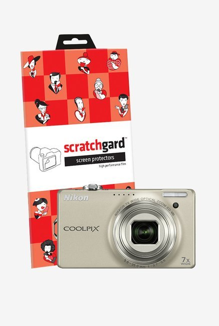 ScratchGard Nikon CP S6000 Ultra Clear Screen Protector