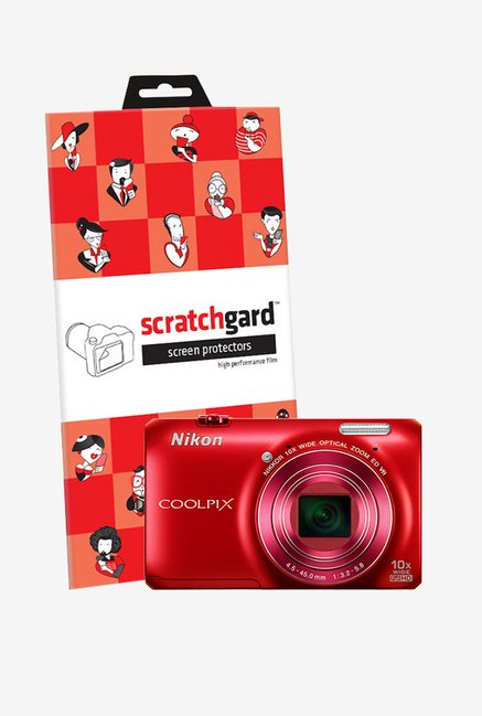 ScratchGard Nikon CP S6300 Ultra Clear Screen Protector