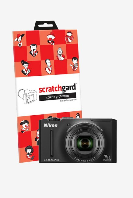 ScratchGard Nikon CP S8100 Ultra Clear Screen Protector
