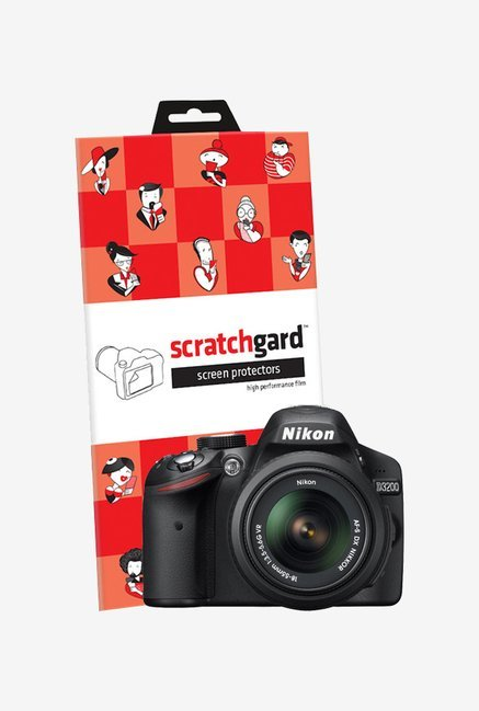 ScratchGard Nikon D3200 Ultra Clear Screen Protector