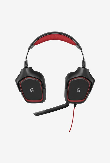 Logitech G230 Over-Ear Headphone Black