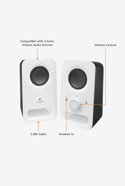 Logitech Z150 Multimedia Speaker White