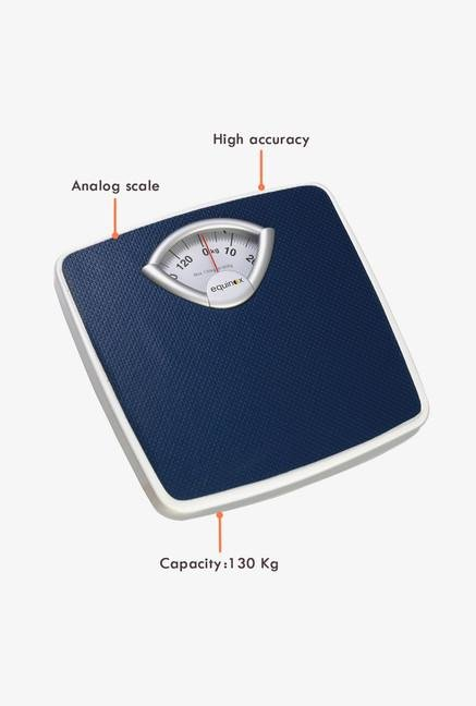 Equinox BR-9201 Analog Weighing Scale Blue