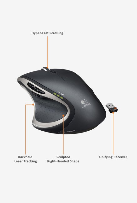 Logitech M950T Mouse Black
