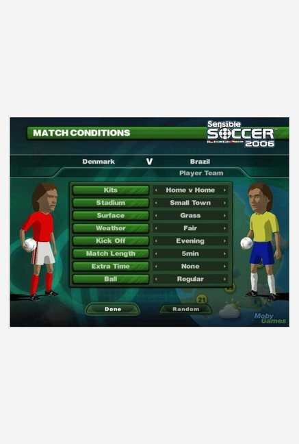 Codemasters Sensible Soccer 2006 (PC)