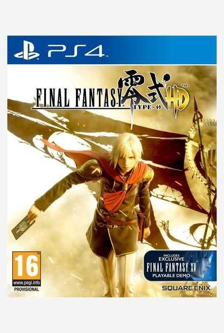 Square-Enix Final Fantasy Type-0 HD SteelBook Edition (PS4)