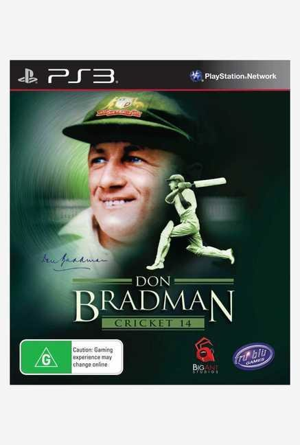 Tru Blue Entertainment Don Bradman Cricket 2014 (PS3)