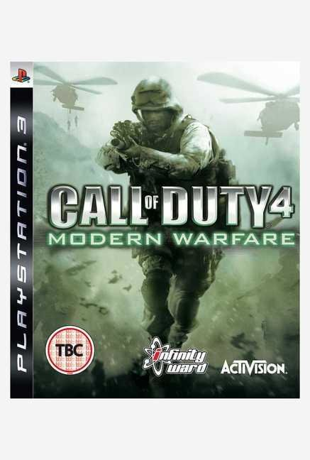 Activision Call of Duty 4: Modern Warfare (PS3)