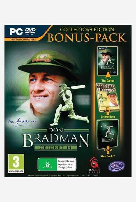 Tru Blue Entertainment Don Bradman Cricket 14 Collectors Ed