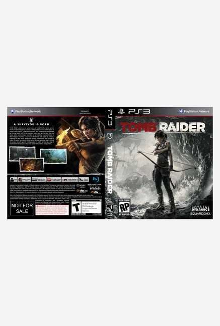 Square-Enix Tomb Raider (PS3)