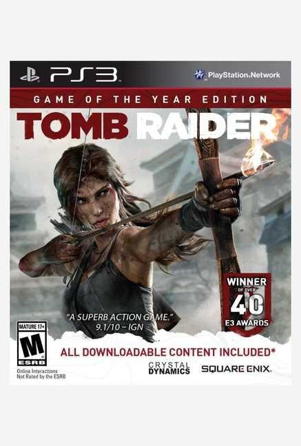Square-Enix Tomb Raider - Game of the Year (PS3)