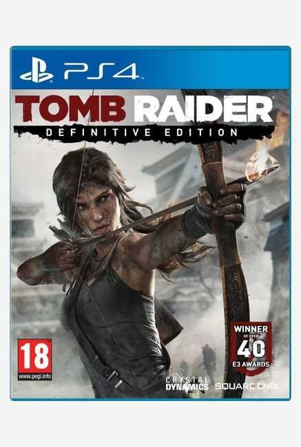 Square-Enix Tomb Raider Definitive Ed. (PS4)