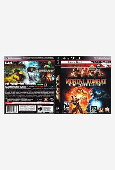 Warner Brothers Mortal Kombat Komplete Edition (PS3)