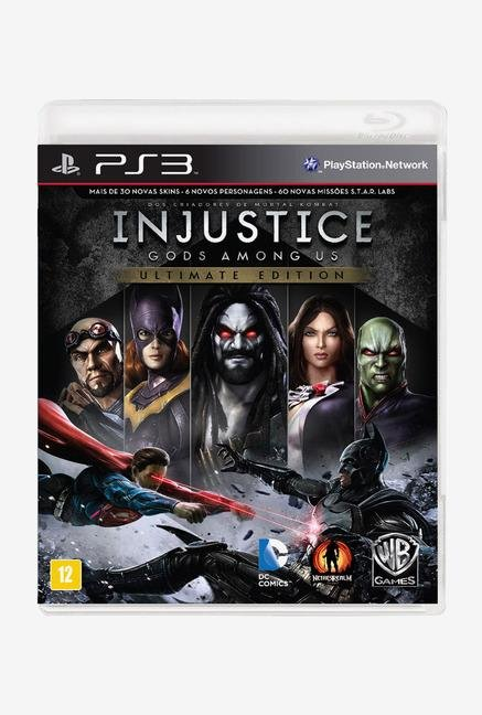 Warner Brothers Injustice: Gods Among Us Ultimate Ed.(PS3)