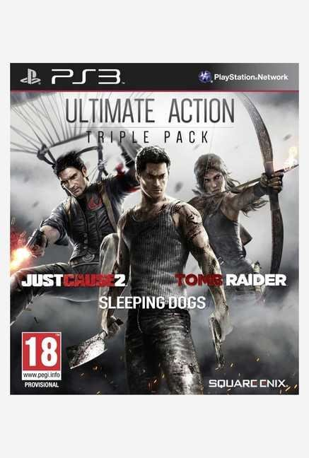 Square-Enix Ultimate Action Triple Pack (PS3)