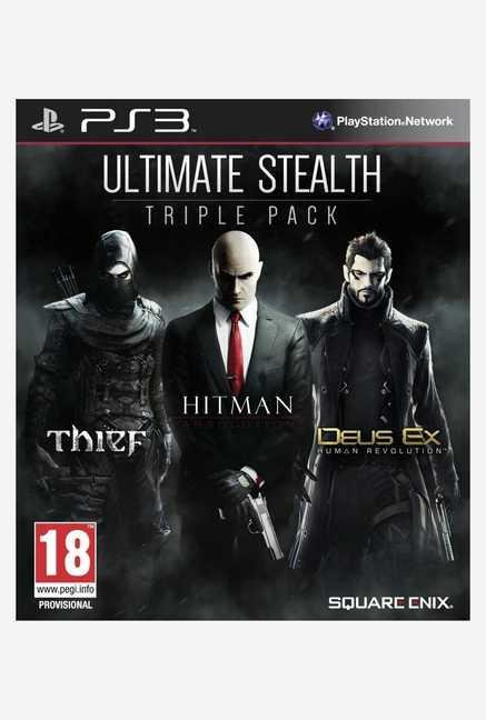 Square-Enix Ultimate Stealth Triple Pack (PS3)