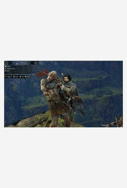 Warner Brothers Middle Earth: Shadow of Mordor GOTY Ed.(PS4)
