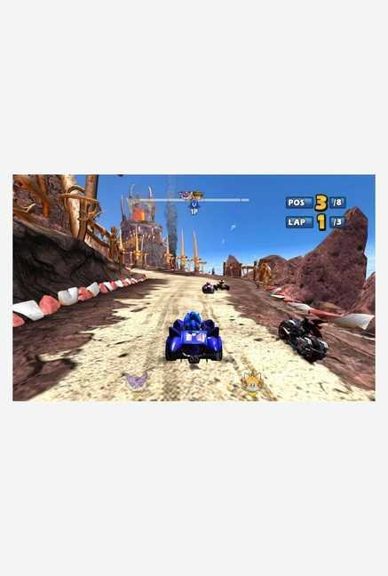 Sega Sonic & Sega All-Stars Racing (PC)