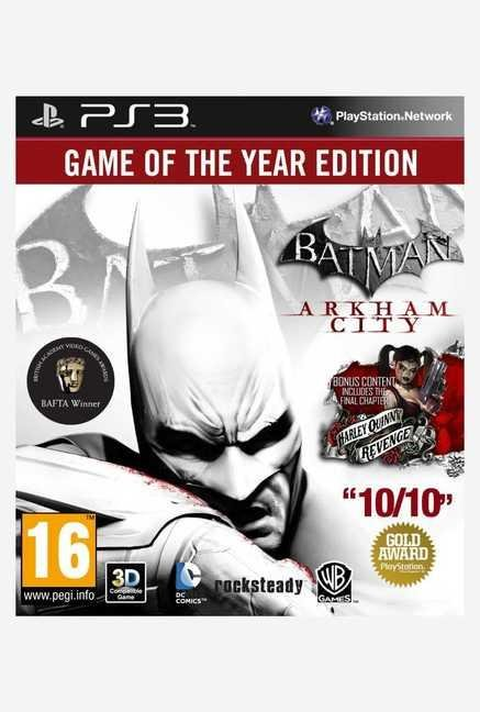 Warner Brothers Batman: Arkham City GOTY Edition(PS3)