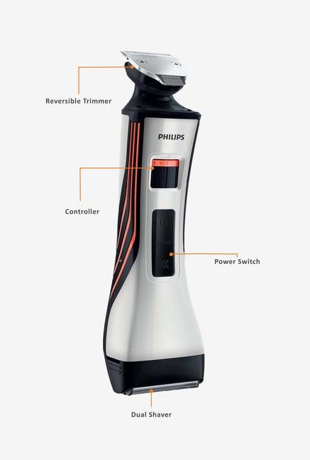 Philips QS6140/15 Styler and Shaver Silver
