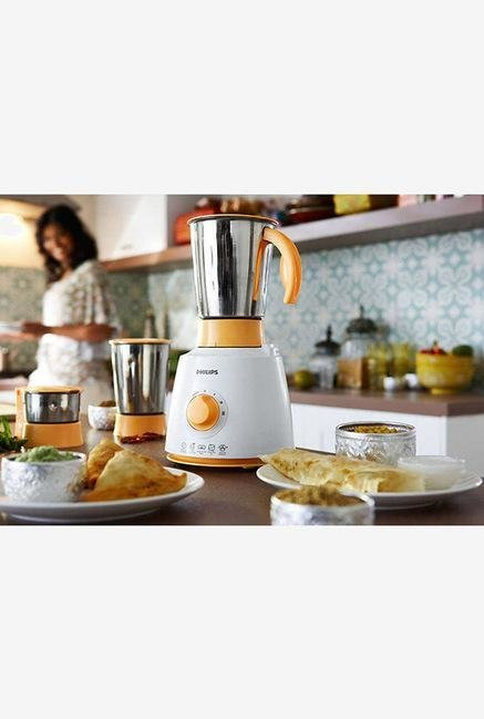 Philips Daily Collection HL7620/00 500 W Mixer Grinder White