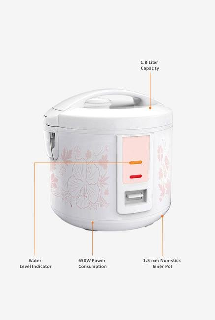 Philips Daily Collection HD3018/01 Rice Cooker White