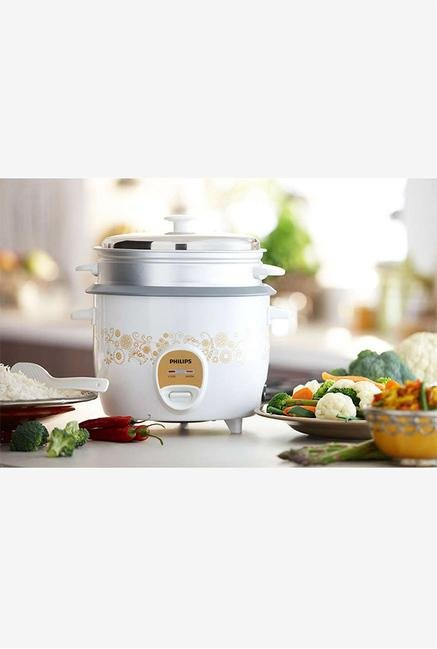 Philips Daily Collection HD3043/00 Rice Cooker White