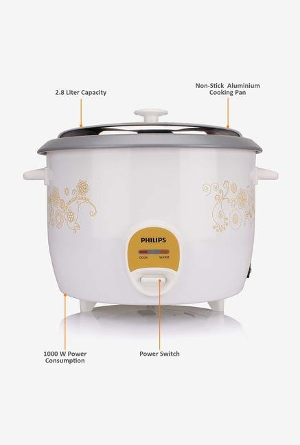 Philips Daily Collection HD3044/00 Rice Cooker White