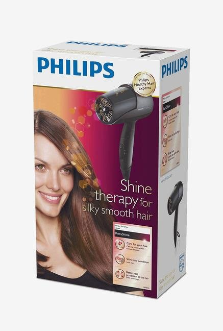 Philips Kerashine HP8216/00 Hair Dryer Black