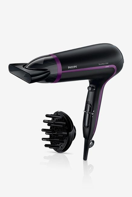 Philips ThermoProtect Ionic HP8234/10 Hair Dryer Black