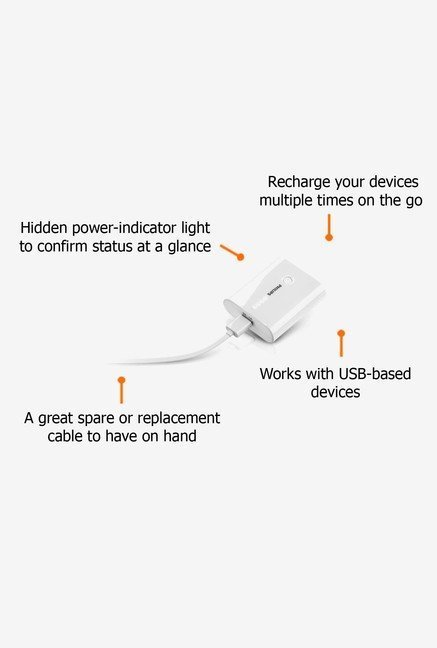 Philips 5200 mAh DLP5202/97 Power Bank White