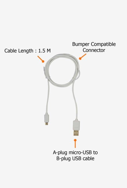 ULTRAPROLINK UL487WHT-0150 USB Cable White