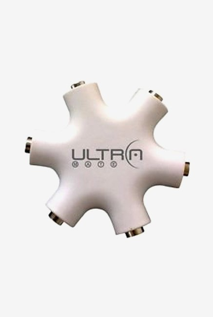 ULTRAPROLINK 5 Way UM0001 Headphone Splitter White