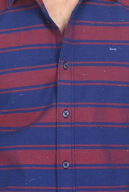 Basics Red Stripe Shirt