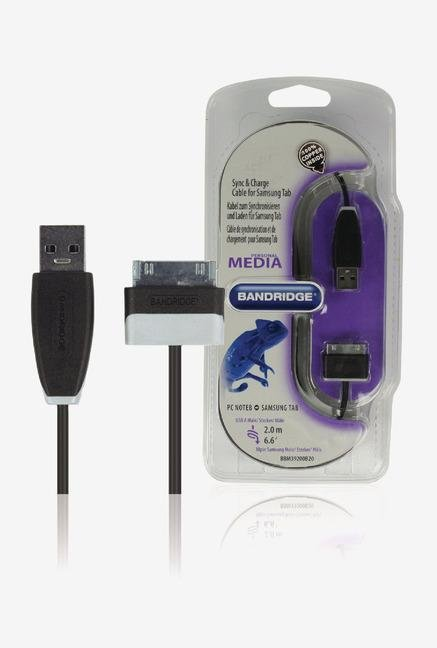 Bandridge BBM39200B20 Charge Cable Black