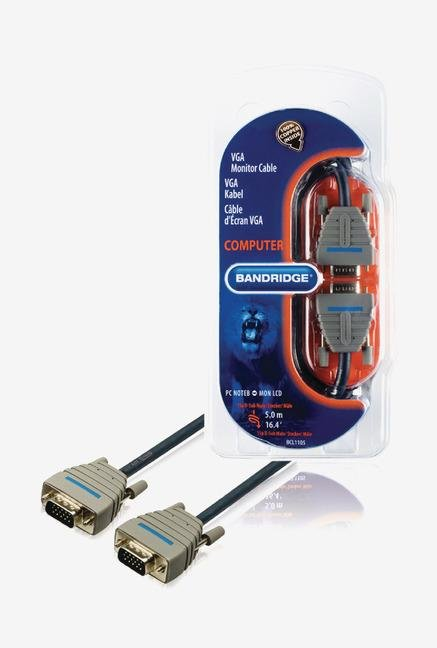 Bandridge BCL1105 VGA Cable Blue