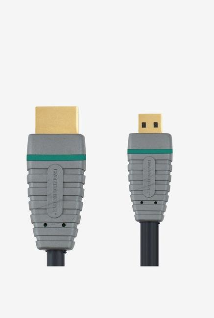 Bandridge BVL1702 HDMI Cable Blue