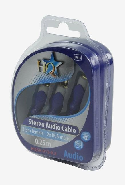 HQ HQSA013-0.2 Audio Cable Blue