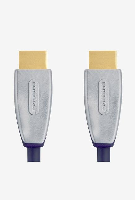 Bandridge SVL1003 HDMI Cable Blue
