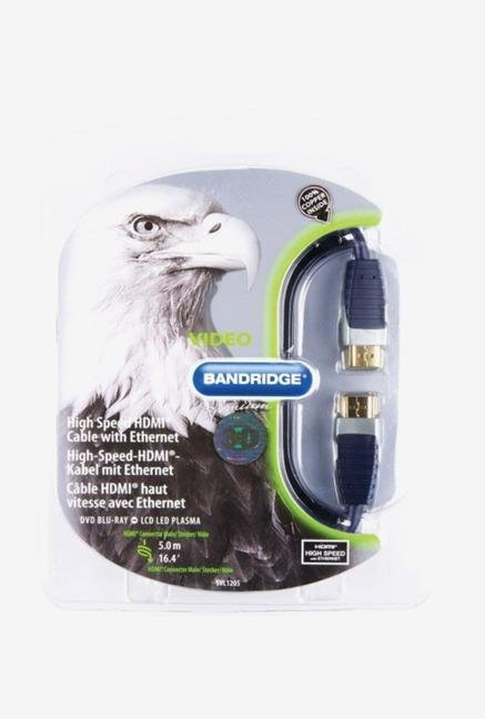 Bandridge SVL1205 HDMI Cable Blue