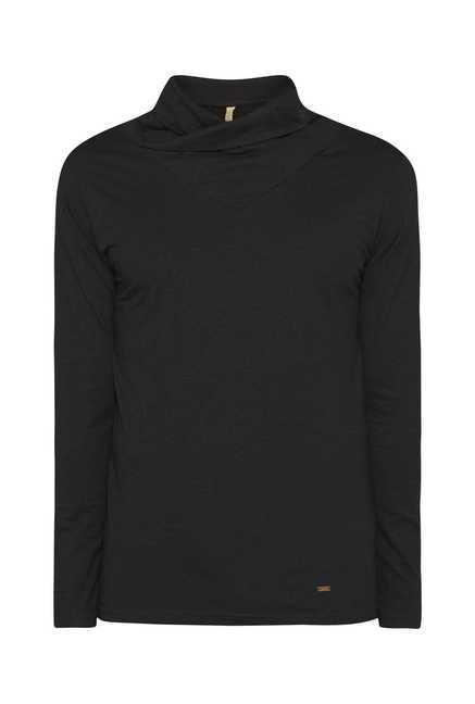 ETA Black Slim Fit T Shirt