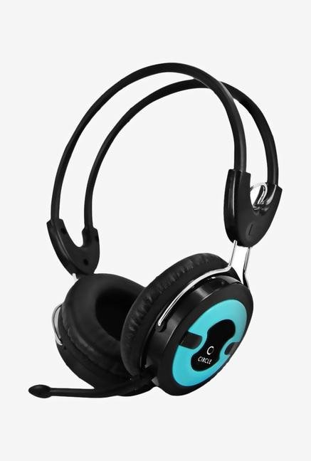 Circle Multimedia CONCERTO 202 Over-Ear Headphone Black&Blue
