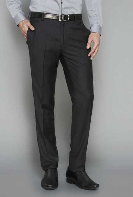 West Street Black Slim Fit Trouser