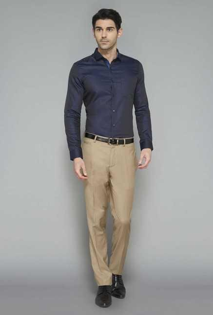 West Street Tan Slim Fit Trouser