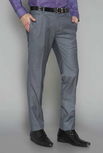 West Street Silver Slim Fit Trouser