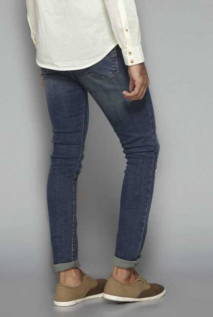 Nuon by Westside Blue Skinny Fit Jeans
