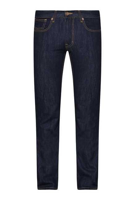 Westsport Mens Dark Blue Regular Fit Jeans