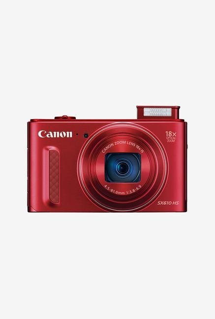 Canon PowerShot SX610 HS Point & Shoot Camera Red
