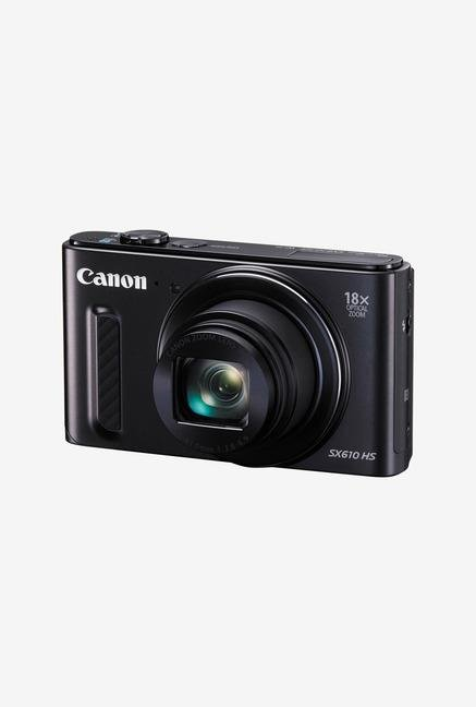 Canon PowerShot SX610 20.2 MP Point & Shoot Camera Black